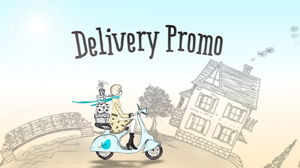 Thumbnail for Delivery Promo | After Effects Template