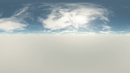 Thumbnail for VR 360 Degree Panorama of Sky And Clouds