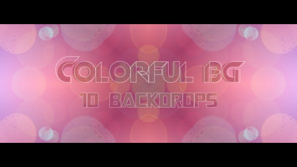 Thumbnail for Colorful Bokeh