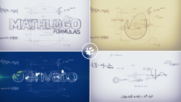 Thumbnail for Math Formulas Logo Reveal
