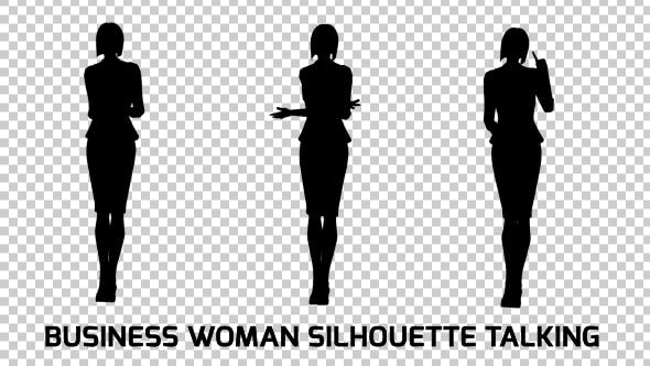 Thumbnail for Business Woman Silhouette
