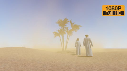 Thumbnail for Palm Sand with Arabic People