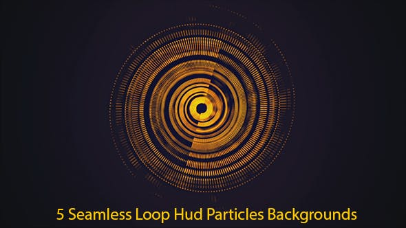 Thumbnail for Hud Particles Abstract Backgrounds