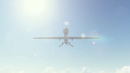 Realistic Military Drone UAV