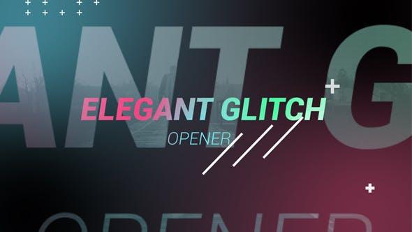 Thumbnail for Elegant Glitch Opener