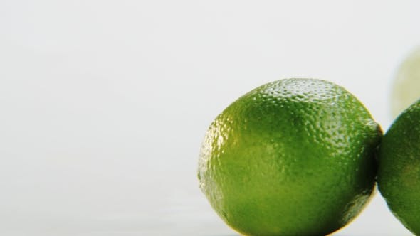 Thumbnail for Limes. Camera Moving From Left To Right