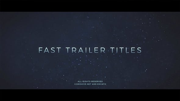 Thumbnail for Fast Trailer Teaser