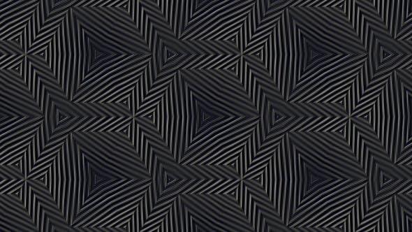 Abstraktes Metallisches Kaleidoskop