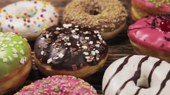 Thumbnail for Donuts with Different Fillings on the Table