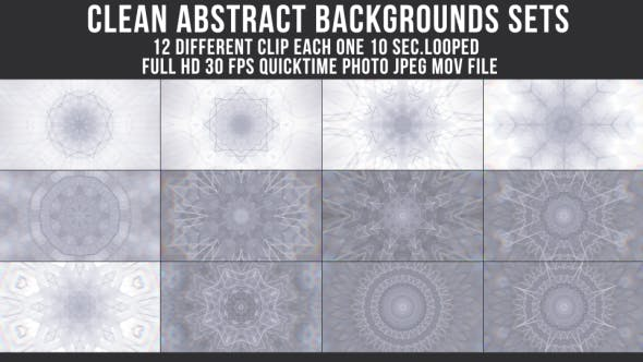 Thumbnail for Clean Abstract Backgrounds
