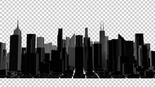 Night Panorama of the City