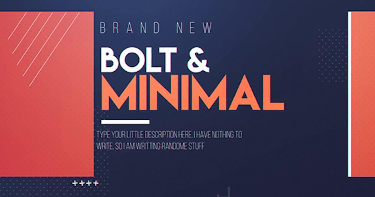 Download Bolt & Minimal by Media_Stock