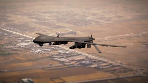 Military Drone (UAV)