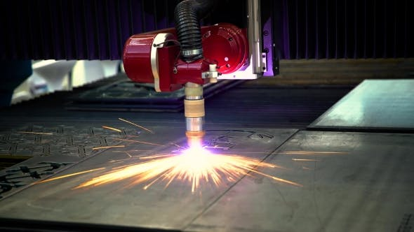 Cover Image for CNC Laser Plasma Cutting of Metal