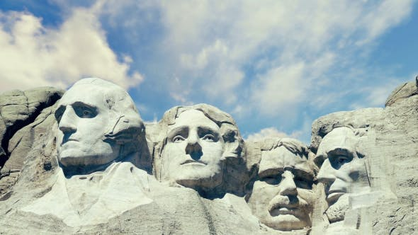 Thumbnail for Mount Rushmore Timelapsed