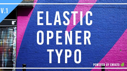 Thumbnail for Elastic Opener Typography
