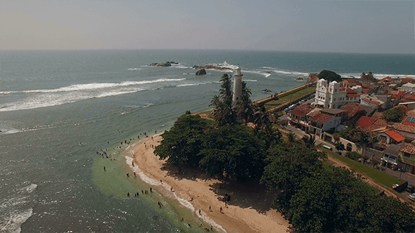 Thumbnail for Flyover Lighthouse Beach