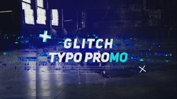 Thumbnail for Glitch Typo Promo