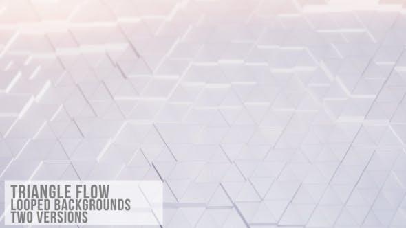 Thumbnail for Dreieck-Flow-Schleife sauberer Hintergrund