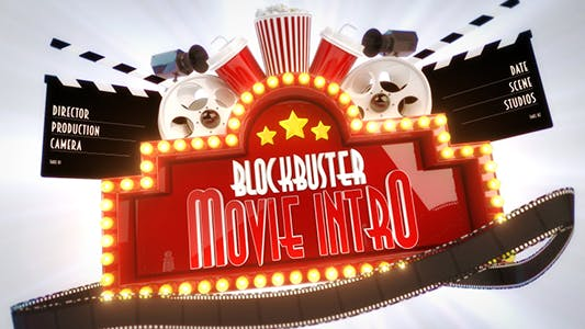 Blockbuster Movie Logo Reveal