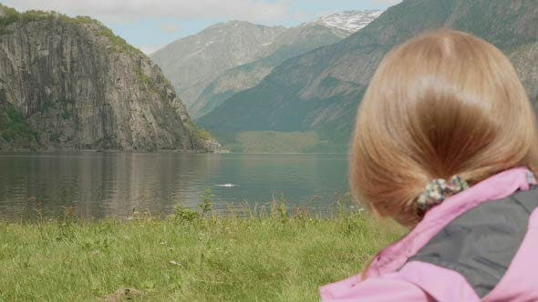 Relax on the Fjord Coastline. Norway
