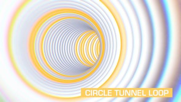 Circles Tunnel Loop