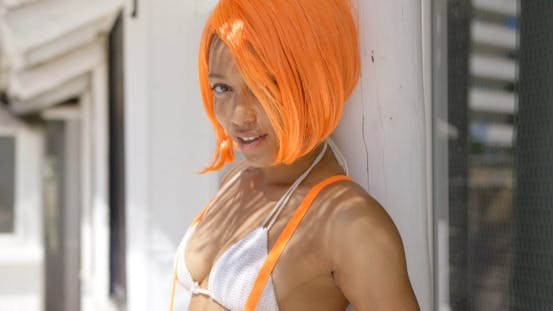 Thumbnail for Portrait of Female with Orange Hair