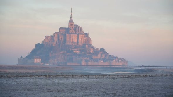 Thumbnail for The Island of Mont-Saint-Michel at Dawn