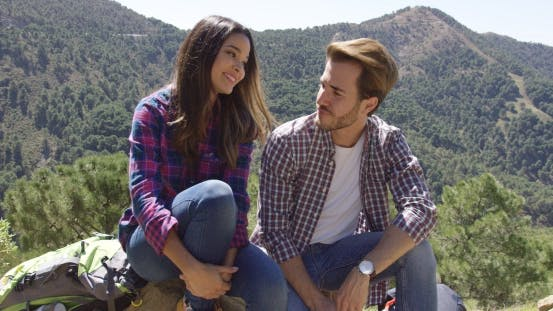 Thumbnail for Young Couple in Mountains