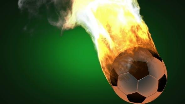 Thumbnail for Burning Soccer Ball