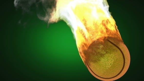 Thumbnail for Burning Tennis Ball