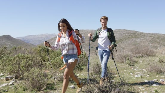 Thumbnail for Two Young People Trekking