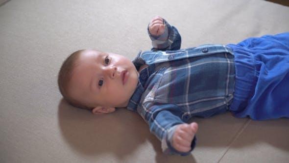 Thumbnail for Newborn Kid at Home.