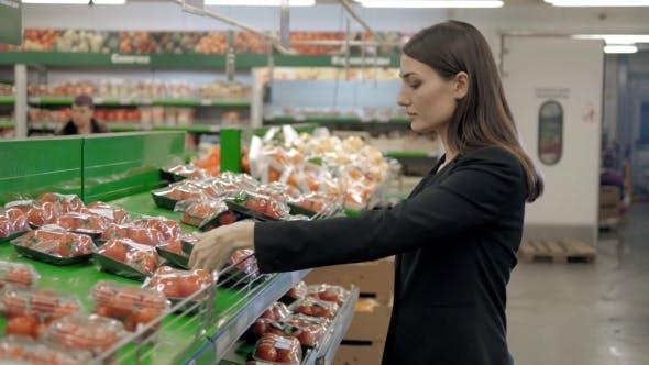 Thumbnail for Beautiful Women Shopping Vegetables