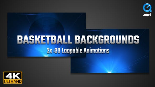 Thumbnail for Basketball Backgrounds 4K