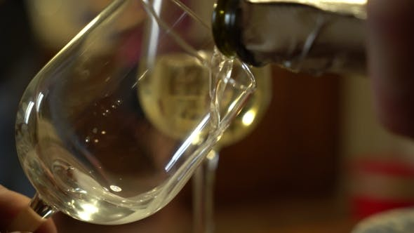 Thumbnail for Bottle with Sparkling Wine and Goblets.