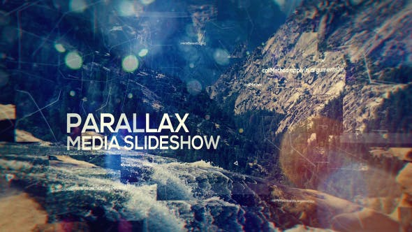 Thumbnail for Parallax Media Slideshow