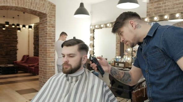 Thumbnail for Men's Hairdressers Barbers