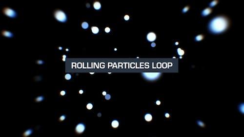 Rollende Partikel Silber