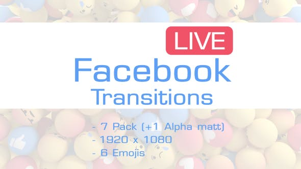 Facebook Like Reactions Transition