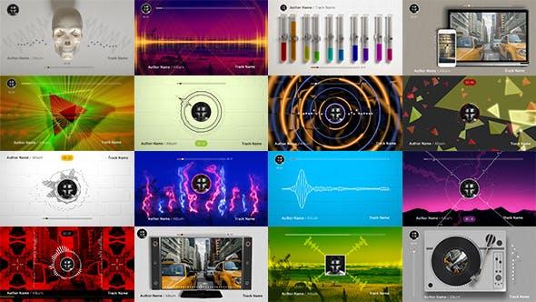 50 Audio Spectrum Music Visualizers