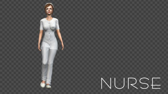 Nurse Walking