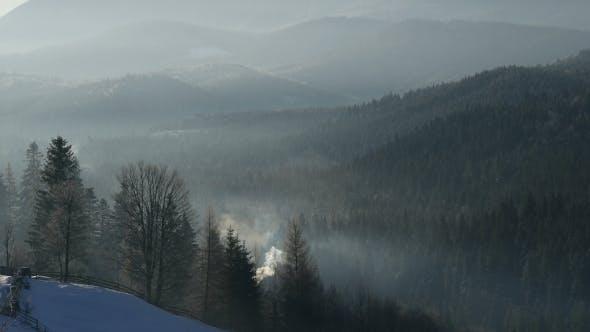 Thumbnail for Mountains Winter Landscape