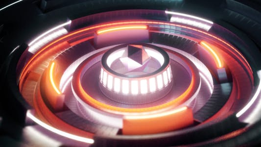 Thumbnail for VJ 3D Circle Stage Loop