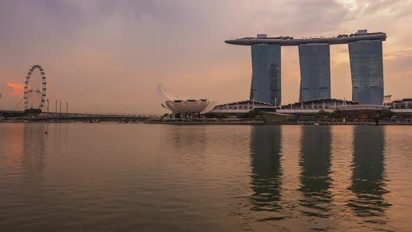 Thumbnail for Dawn in Marina Bay