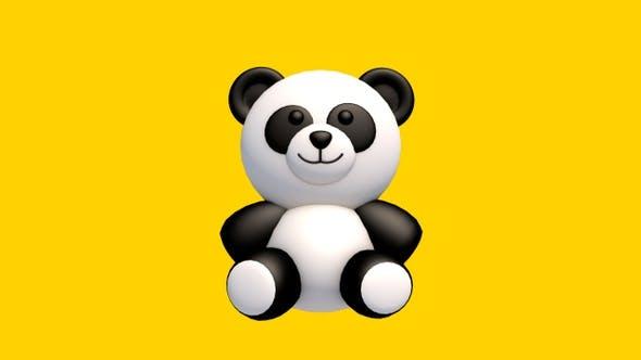 Thumbnail for Panda 3D 360-Grad-Spin — Looped