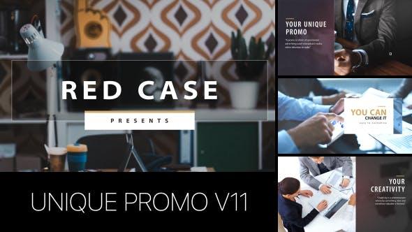 Thumbnail for Unique Promo v11 | Corporate Presentation
