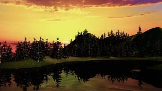 Thumbnail for Mountain Sun Set