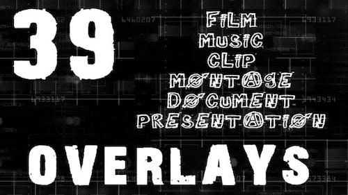 Overlays Big Pack - 39 Overlays