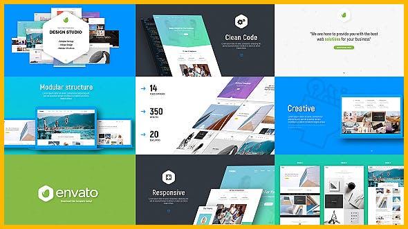Design Studio et présentation du site Web